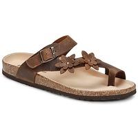Shoes Női Lábujjközös papucsok Dream in Green MINIK Barna