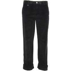 Ruhák Női Chino nadrágok / Carrot nadrágok NeroGiardini A960730D Fekete