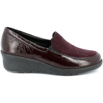Cipők Női Mokkaszínek Grunland SC4775 Piros