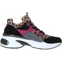Cipők Női Rövid szárú edzőcipők Onyx W19-SOX515 Fekete