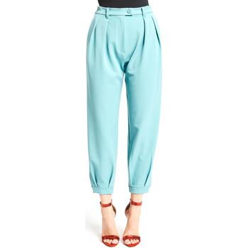 Ruhák Női Chino nadrágok / Carrot nadrágok Denny Rose 921DD20008 Kék