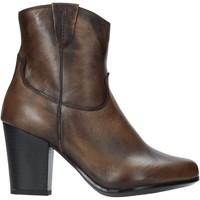 Cipők Női Bokacsizmák The Flexx E8012_02 Barna