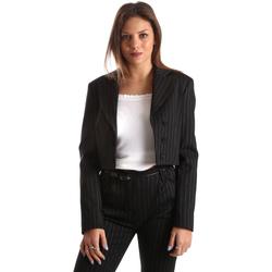 Ruhák Női Kabátok / Blézerek Fracomina FR19FP066 Fekete