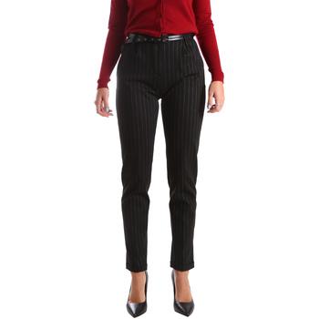 Ruhák Női Chino nadrágok / Carrot nadrágok Fracomina FR19FP619 Fekete