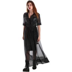 Ruhák Női Hosszú ruhák Fracomina FR19FM567 Fekete