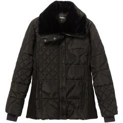 Ruhák Női Steppelt kabátok Desigual 19WWEWBP Fekete