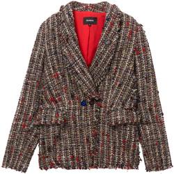 Ruhák Női Kabátok / Blézerek Desigual 19WWEWCM Fekete