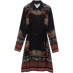 Ruhák Női Rövid ruhák Desigual 19WWVW34 Fekete