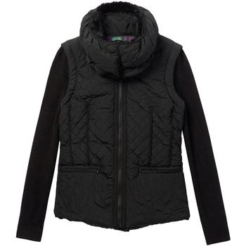 Ruhák Női Steppelt kabátok Desigual 19WWEW07 Fekete