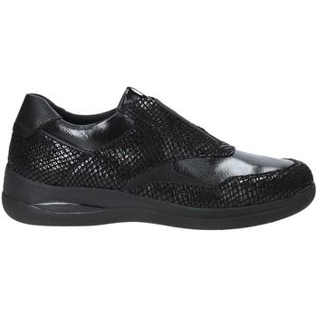 Cipők Női Belebújós cipők Stonefly 212962 Fekete