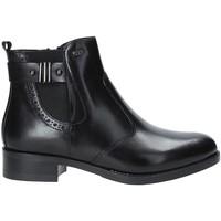 Cipők Női Bokacsizmák Valleverde 47504 Fekete