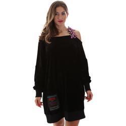 Ruhák Női Rövid ruhák Versace B6HUB77011684899 Fekete