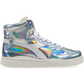 Cipők Női Magas szárú edzőcipők Diadora 201.175.511 Ezüst