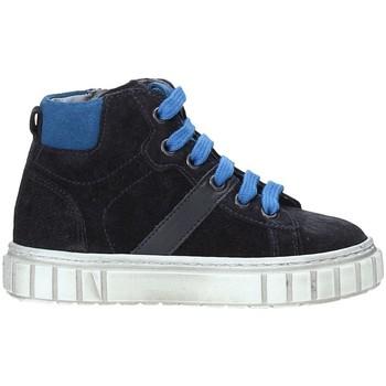 Cipők Gyerek Magas szárú edzőcipők NeroGiardini A923700M Kék