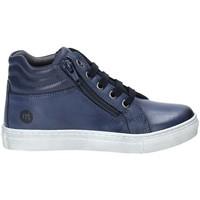 Cipők Gyerek Magas szárú edzőcipők Melania ME6453F9I.D Kék