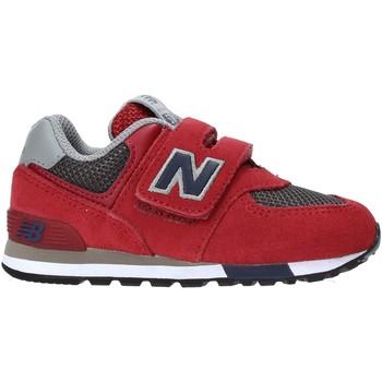 Cipők Gyerek Rövid szárú edzőcipők New Balance NBIV574FNB Piros