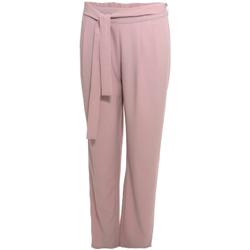 Ruhák Női Lenge nadrágok Smash S1829415 Rózsaszín