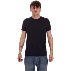 Ruhák Férfi Rövid ujjú pólók Gaudi 011BU64093 Kék