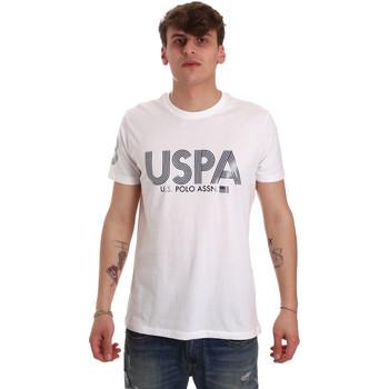 Ruhák Férfi Rövid ujjú pólók U.S Polo Assn. 57197 49351 Fehér