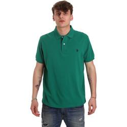 Ruhák Férfi Rövid ujjú galléros pólók U.S Polo Assn. 55957 41029 Zöld