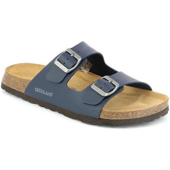 Cipők Férfi Papucsok Grunland CB3013 Kék