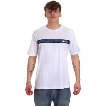 Ruhák Férfi Rövid ujjú pólók Antony Morato MMKS01686 FA100144 Fehér