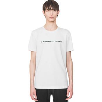 Ruhák Férfi Rövid ujjú pólók Antony Morato MMKS01754 FA100144 Fehér
