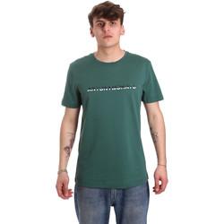Ruhák Férfi Rövid ujjú pólók Antony Morato MMKS01754 FA100144 Zöld