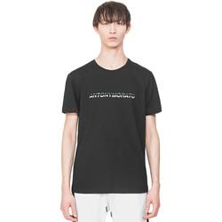 Ruhák Férfi Rövid ujjú pólók Antony Morato MMKS01754 FA100144 Fekete