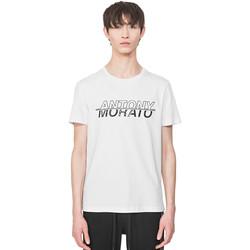 Ruhák Férfi Rövid ujjú pólók Antony Morato MMKS01816 FA100144 Fehér