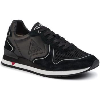 Cipők Férfi Rövid szárú edzőcipők Guess FM5NGL LEA12 Fekete