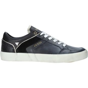 Cipők Férfi Rövid szárú edzőcipők Guess FM5STA LEA12 Fekete