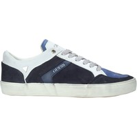 Cipők Férfi Rövid szárú edzőcipők Guess FM5STA SUE12 Kék
