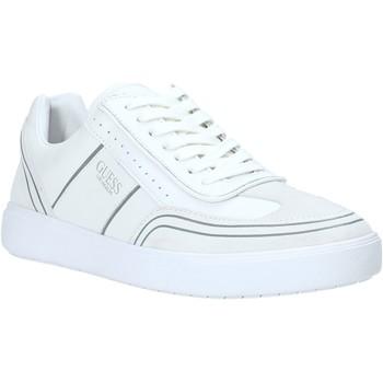 Cipők Férfi Rövid szárú edzőcipők Guess FM6NET LEA12 Fehér