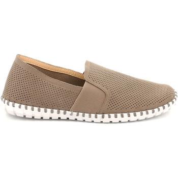 Cipők Férfi Belebújós cipők Grunland SC4918 Bézs
