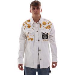 Ruhák Férfi Kabátok Versace C1GVB92GHRC33003 Fehér