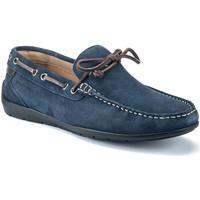 Cipők Férfi Mokkaszínek Lumberjack SM40602 002 A01 Kék