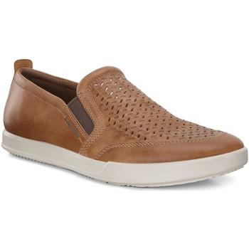 Cipők Férfi Belebújós cipők Ecco 53628402291 Barna