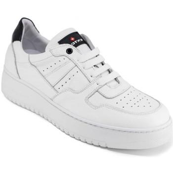 Cipők Férfi Rövid szárú edzőcipők Exton 427 Fehér