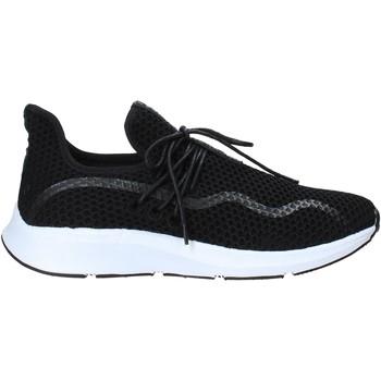 Cipők Férfi Rövid szárú edzőcipők Rocco Barocco N19.3 Fekete
