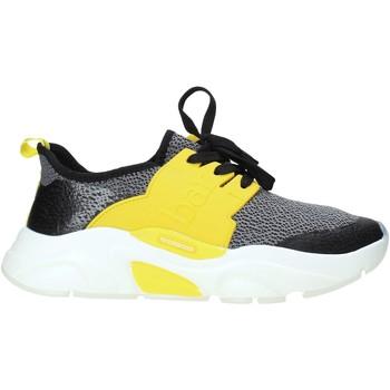 Cipők Férfi Rövid szárú edzőcipők Rocco Barocco N17.2 Fekete