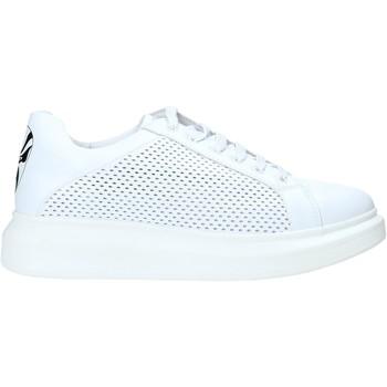 Cipők Férfi Rövid szárú edzőcipők Rocco Barocco N5 Fehér