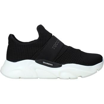 Cipők Férfi Divat edzőcipők Rocco Barocco N18 Fekete