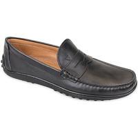 Cipők Férfi Mokkaszínek Valleverde 11840 Fekete