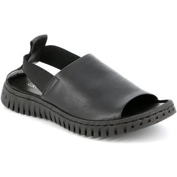 Cipők Női Szandálok / Saruk Grunland SA2538 Fekete
