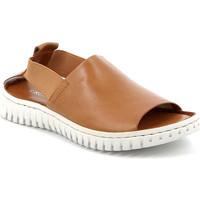 Cipők Női Szandálok / Saruk Grunland SA2538 Barna
