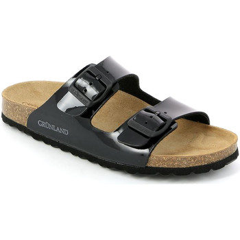 Cipők Női Papucsok Grunland CB1035 Fekete