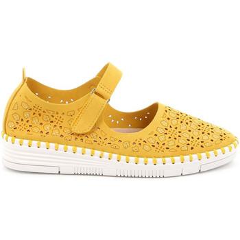 Cipők Női Balerina cipők  Grunland SC4911 Sárga