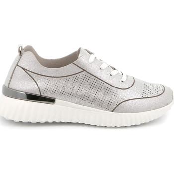 Cipők Női Rövid szárú edzőcipők Grunland SC4905 Ezüst