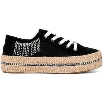 Cipők Női Rövid szárú edzőcipők Café Noir DG934 Fekete
